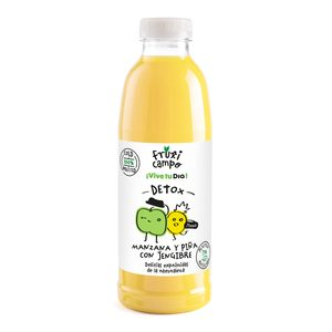 DIA FRUTICAMPO zumo de manzana y piña con jengibre botella 750 ml