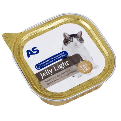 AS paté para gatos light tarro 100 gr