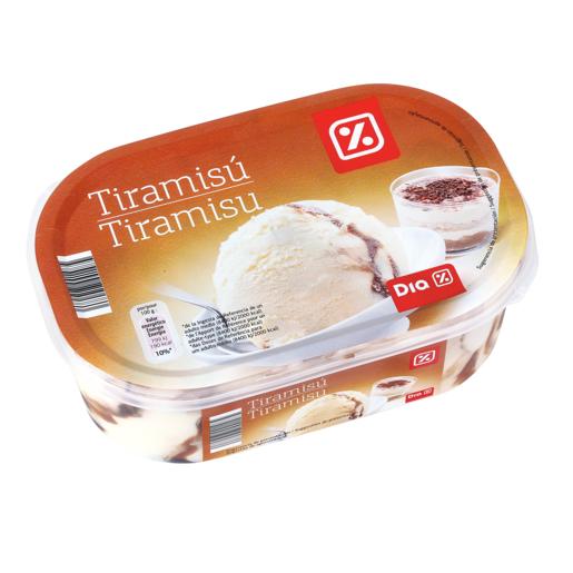DIA helado tiramisú barqueta 500 gr