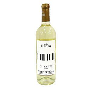 VIÑA DANZA vino blanco DO Valdepeñas botella 75 cl