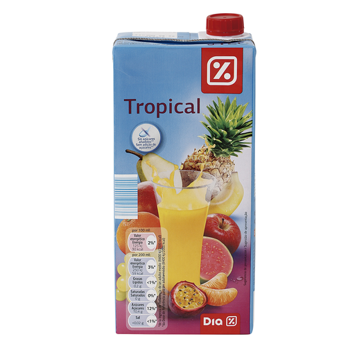 DIA néctar light tropical envase 1 lt