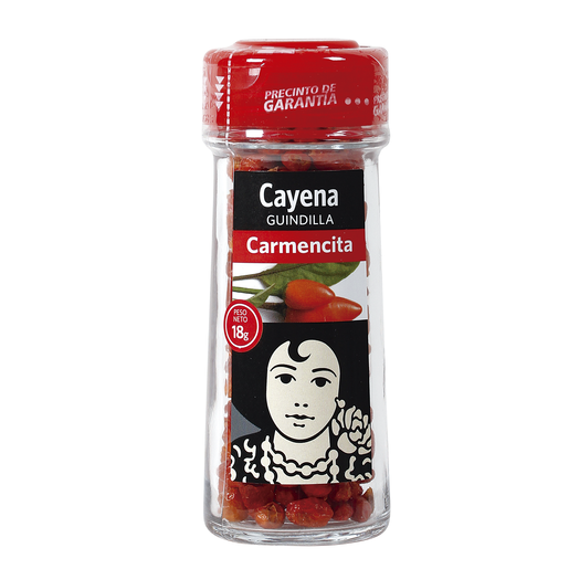 CARMENCITA cayena guindillas frasco 16 gr