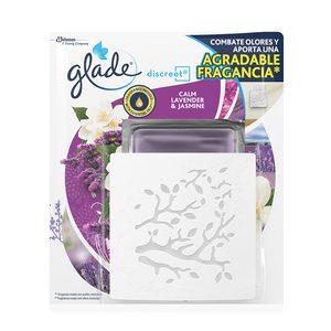 GLADE BY BRISE Discreet ambientador lavanda & jazmín aparato+recambio 1 ud