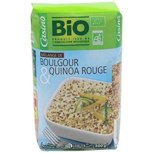 CASINO BIO mezcla de trigo y quinoa roja paquete 400 gr