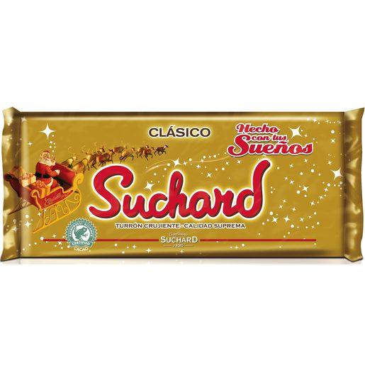 SUCHARD turrón crujiente con chocolate estuche 285 gr