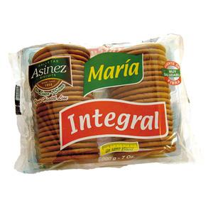 ASINEZ galletas maría integrales paquete 200 gr