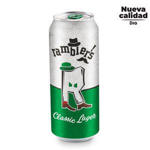 DIA RAMBLERS cerveza lager lata 50 cl