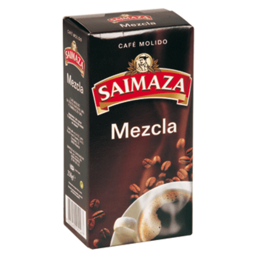 SAIMAZA café molido mezcla paquete 250 gr