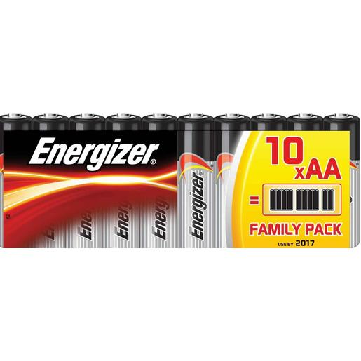 ENERGIZER pilas AA (LR6) blister 10 ud