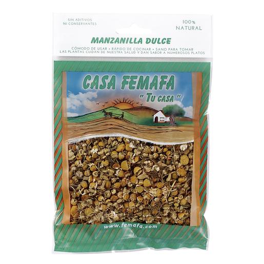 CASA FEMAFA manzanilla dulce bolsa 30 gr