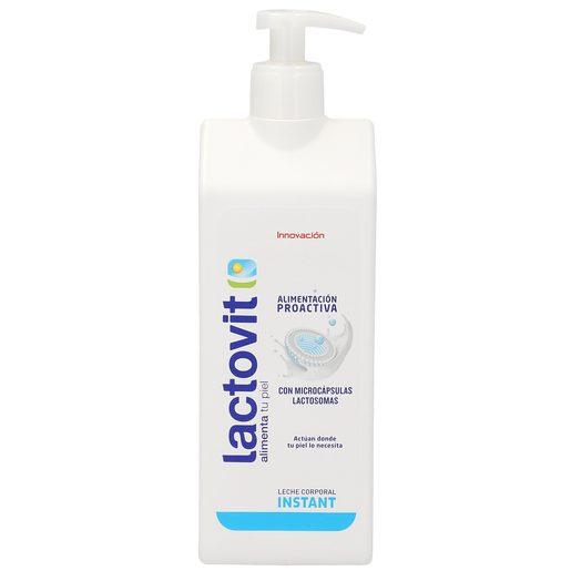 LACTOVIT leche corporal hidratante para pieles normales bote 400 ml