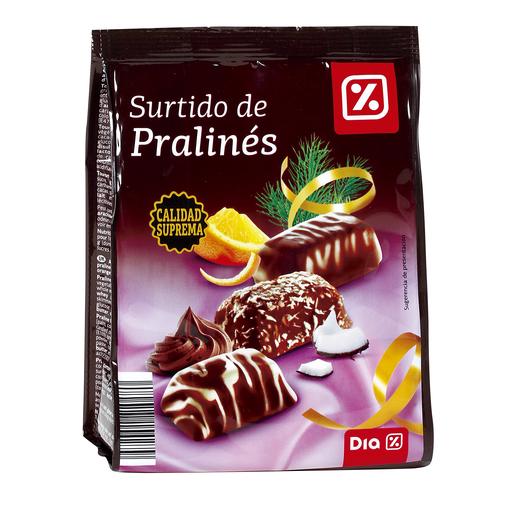 DIA surtido de pralinés bolsa 120 gr