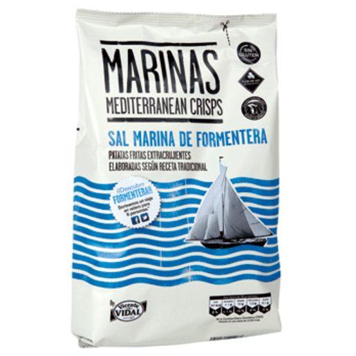 VIDAL patatas fritas con sal marina bolsa 150 gr