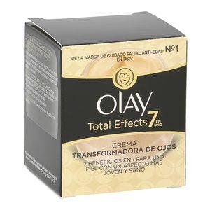 OLAY Total effects 7 en 1 crema transformadora de ojos antiedad tarro 15 ml