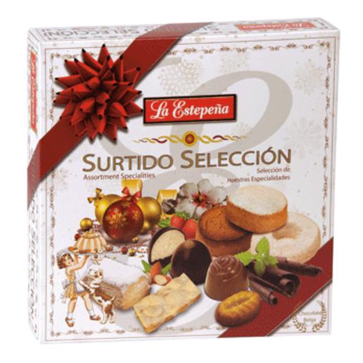 LA ESTEPEÑA surtido navidad caja 850 gr