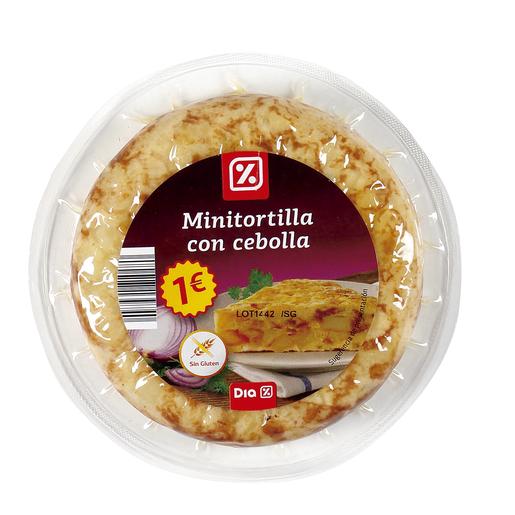 DIA mini tortilla de patatas con cebolla envase 220 gr