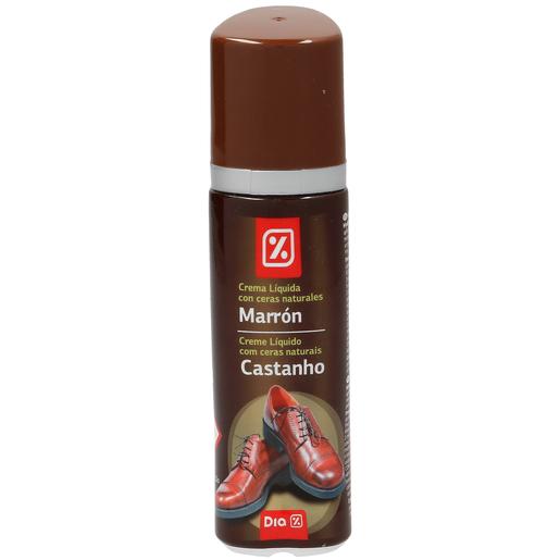 DIA limpiacalzado autoaplizador con esponja color marrón bote 50 ml