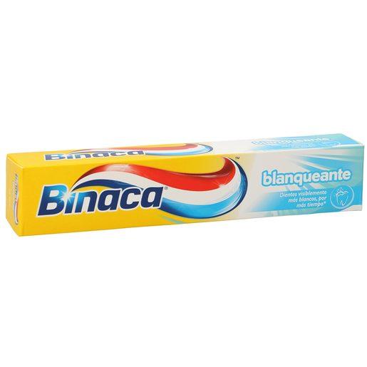 BINACA pasta dentífrica blanqueante tubo 75 ml