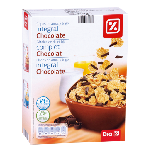 DIA cereales de chocolate special paquete 300 gr