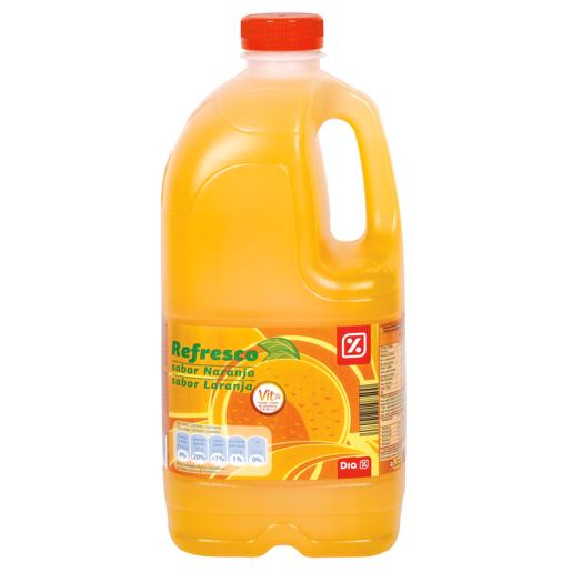 DIA bebida refrescante naranja 2 L