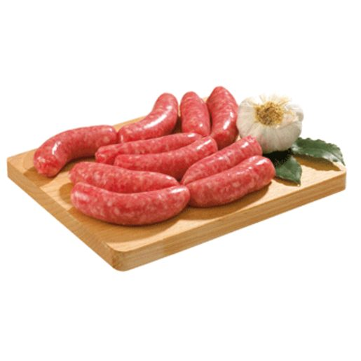 EMCESA longaniza blanca fresca de cerdo bandeja peso aproximado 386 g