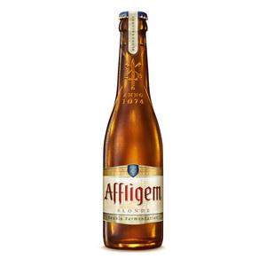 AFFLIGEM cerveza doble de abadía belga botella 30 cl