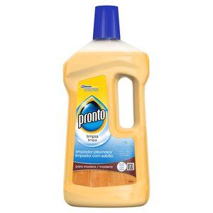 PRONTO limpiador jabonoso de madera botella 750 ml