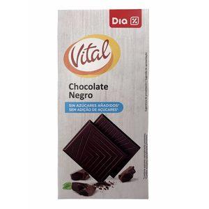 DIA VITAL chocolate negro sin azúcares añadidos tableta 100 gr