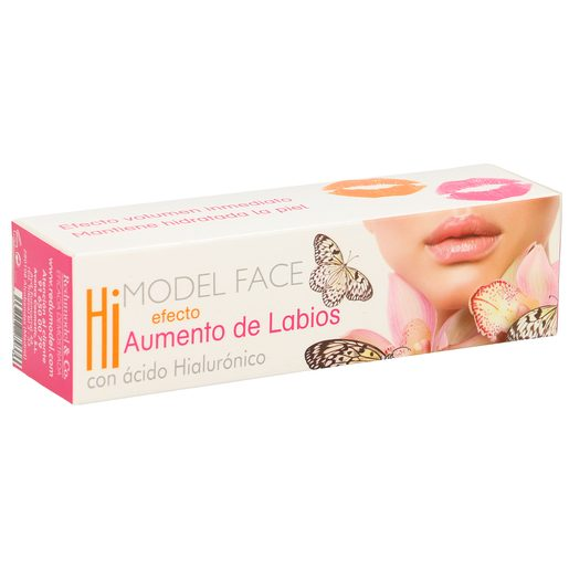 HI MODEL FACE loción aumenta labios con ácido hialurónico roll on 10 ml