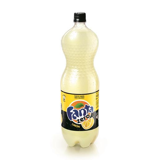 FANTA zero limón botella 2 lt