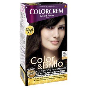 COLORCREM tinte Castaño Oscuro Nº 30 caja 1 ud
