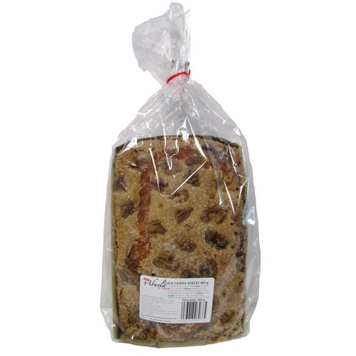 LA ABUELA coca casera con nueces bolsa 400 gr