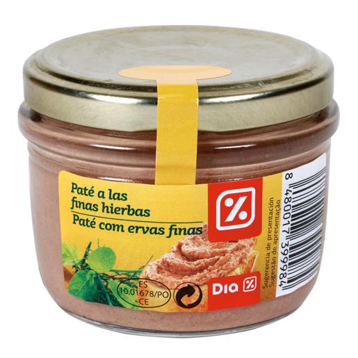 DIA pate de finas hierbas tarro 125 gr