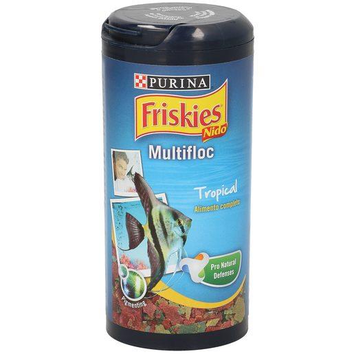 FRISKIES Multifloc alimento para peces de agua tropical bote 40 gr
