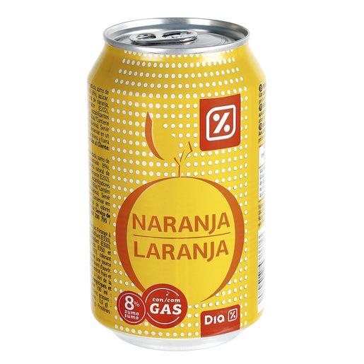 DIA refresco de naranja lata 33 cl