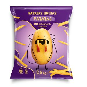 DIA PATATAS UNIDAS patatas prefritas bolsa 2.5 Kg