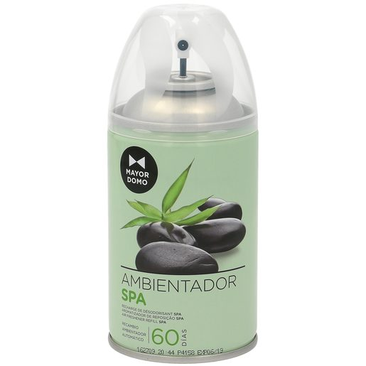 MAYORDOMO ambientador automático aroma frescor spa spray 335 ml