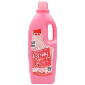 DIA detergente a mano y máquina líquido prendas delicadas botella 80 lv