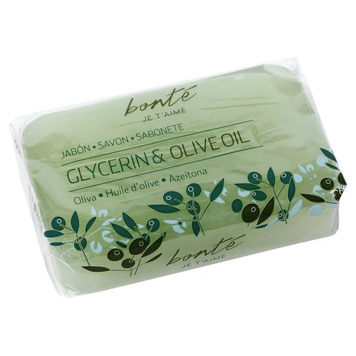 BONTE jabón de glicerina con aceite de oliva 100 gr