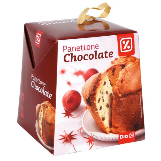 DIA panettone chocolate caja 500 gr