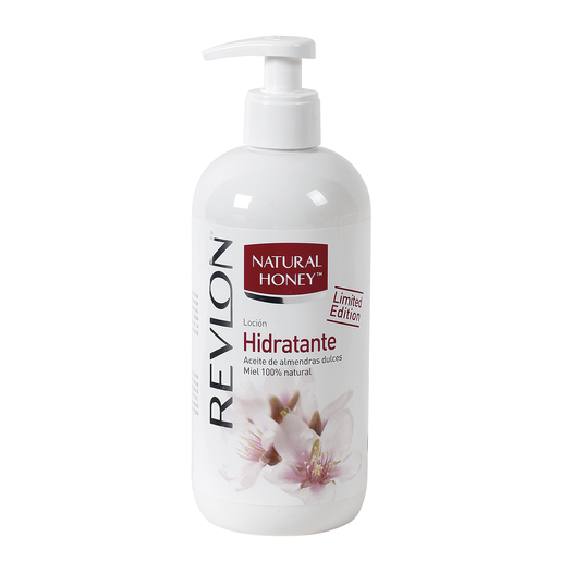 NATURAL HONEY loción corporal hidratante dosificador 400 ml