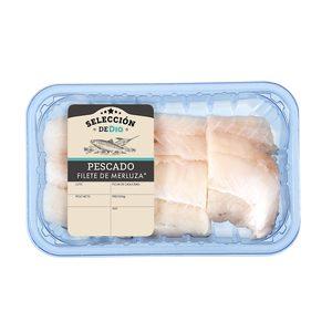 SELECCIÓN DE DIA filete de merluza bandeja (peso aprox. 450 gr)