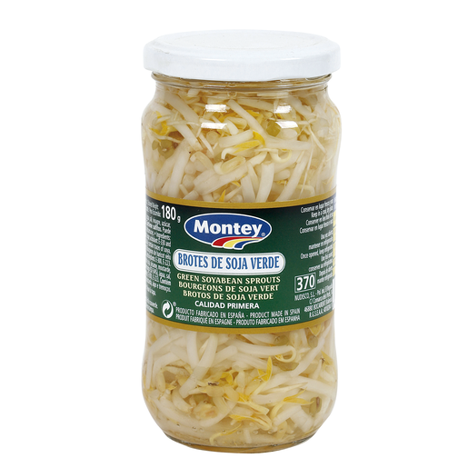 MONTEY brotes de soja verde frasco 180 gr