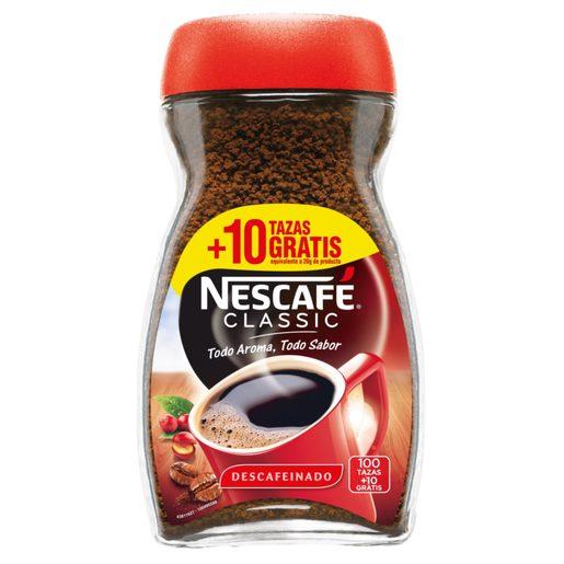 NESCAFE café soluble descafeinado frasco 200 gr