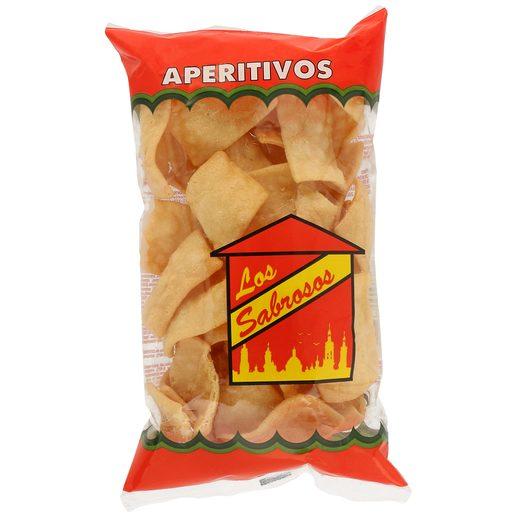 LOS SABROSOS aperitivo cortezas de trigo bolsa 55 gr