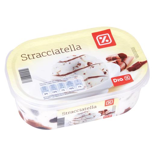 DIA helado stracciatella barqueta 495 gr