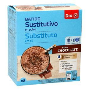 DIA VITAL batido dietético de chocolate caja 8 batidos