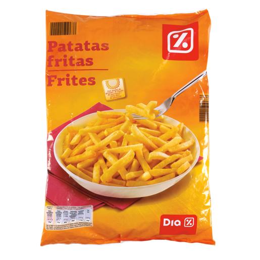 DIA patatas fritas congeladas bolsa 1 kg