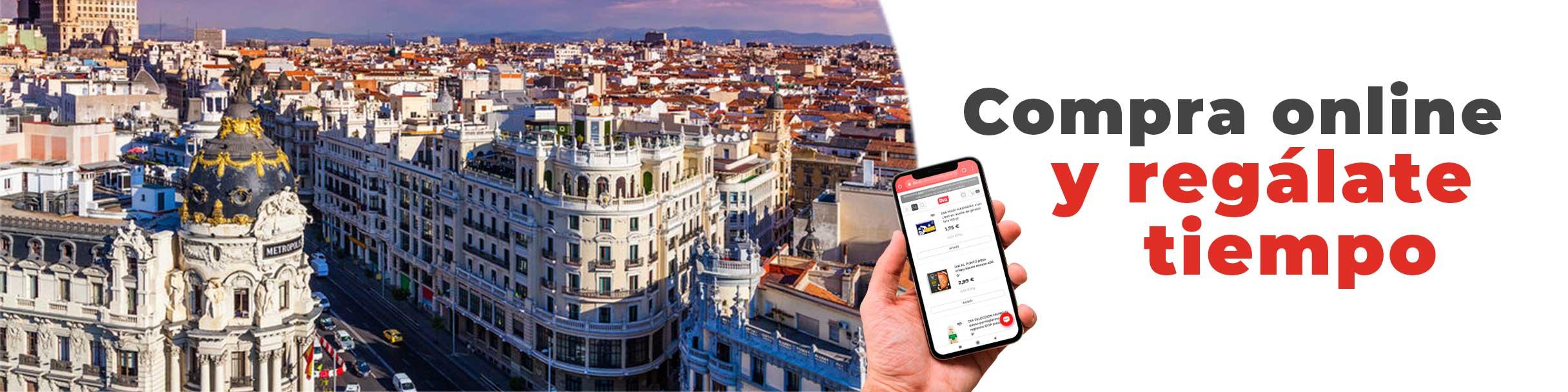 Tu supermercado online en Madrid