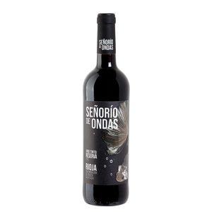 SEÑORÍO DE ONDAS vino tinto reserva DO Rioja botella 75 cl